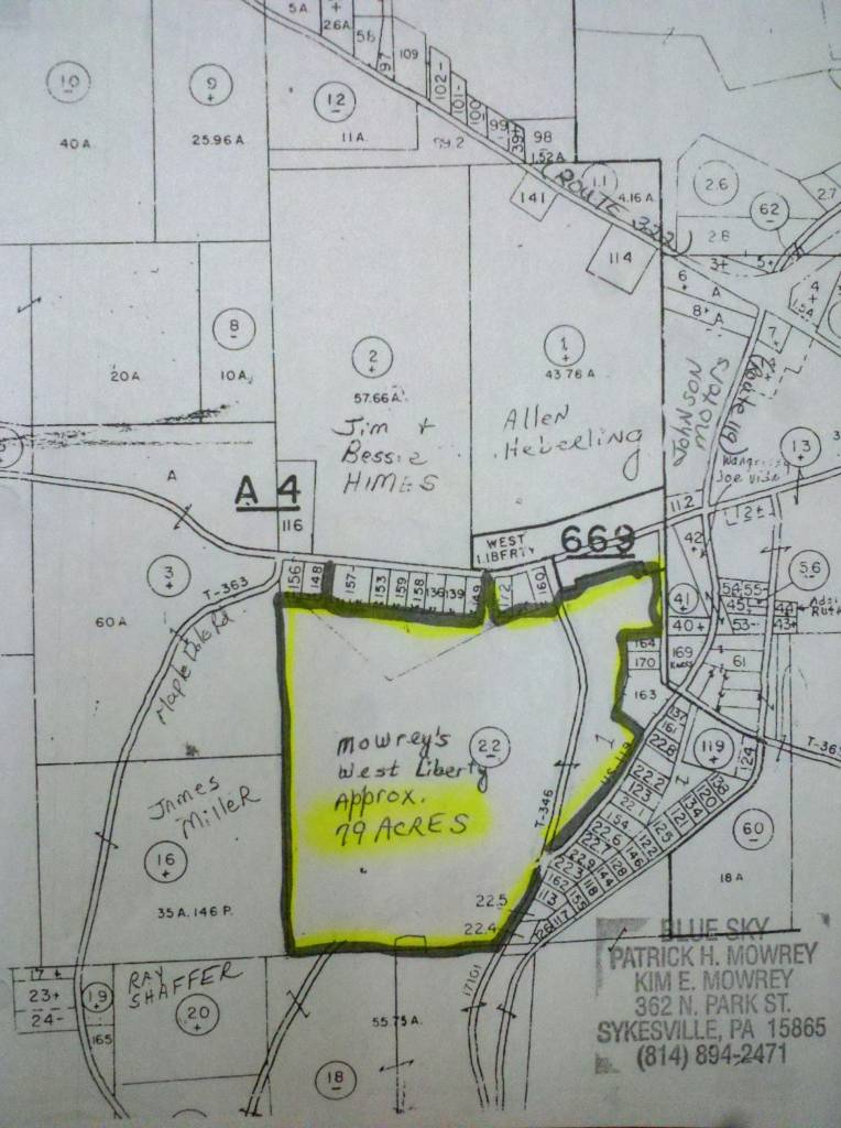 79 acres sandy township clearfield county pa west for Johnsons motors dubois pa